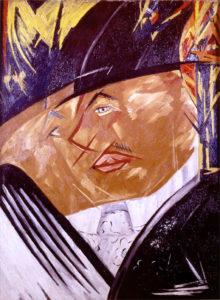 Portrait de Larionov