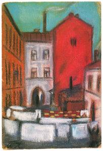 Moscou maison rouge