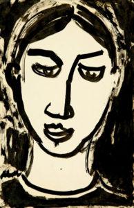 Portrait de Gontcharova