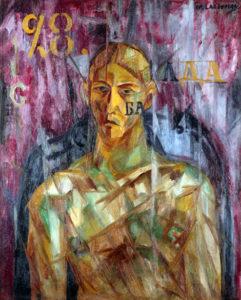 Larionov, Portrait de Vladimir Tatlin